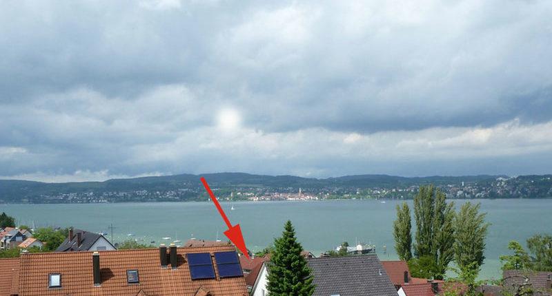 Lage der Ferienwohnung Seeblick Imperia in Konstanz-Dingelsdorf am Bodensee